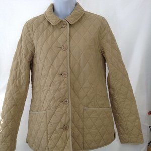 L.L. Bean Diamond Quilted Field Riding Jacket.